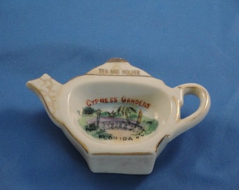 Cypress Gardens Florida Tea Bag Holder