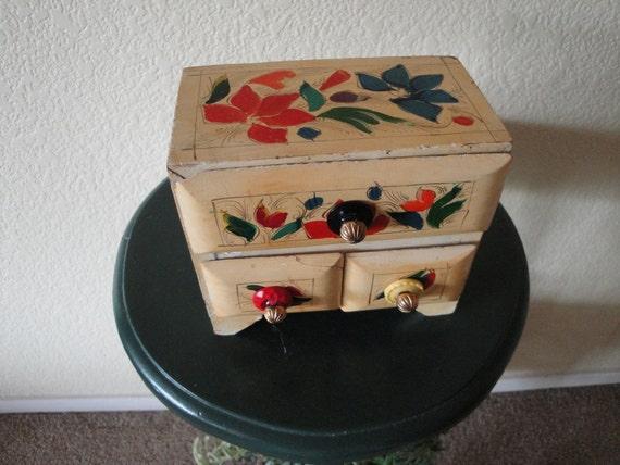 Beautiful Mexican Jewelry Box