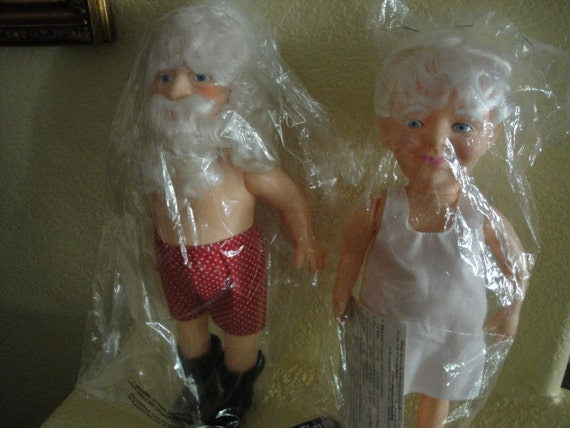 13 Inch Santa and Mrs. Claus