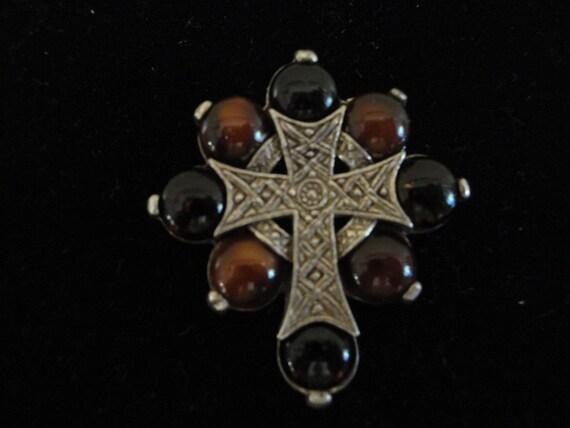Miracle Celtic Cross Pendant/Brooch