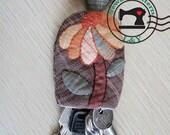 Applique Daisy Key Holder  PDF Sewing Pattern