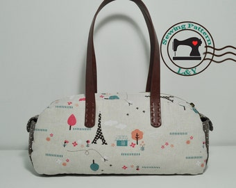 Vintage Boston Bag PDF Sewing Pattern