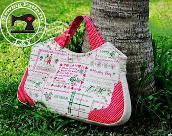 Vintage Handbag PDF Sewing Pattern