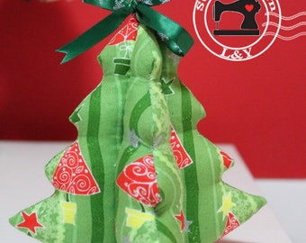 Holiday Ornament Tree PDF Sewing Pattern
