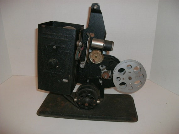 Salvaged Antique 1930 Keystone Jr 8MM Projector