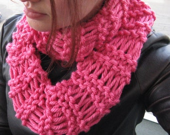 Infinity Scarf Pink Scarf Circle Scarf