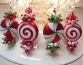 Merry Christmas Dangles (4pc)