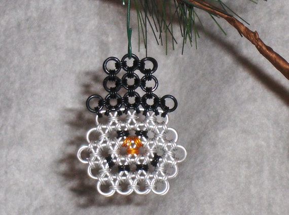 Chainmaille Snowman