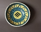 Scandinavian Mid Century Modern Bowl Handmade in Norway