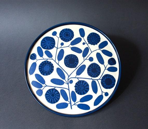 "Vintage Melitta ""Stockholm"" set of 6 Plates"