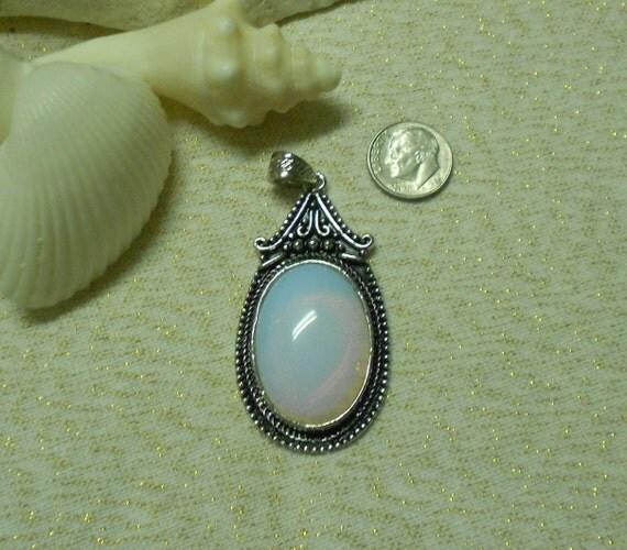 Gorgeous Opal-like Pendant