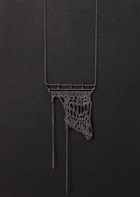 RIO NEGRO crochet necklace