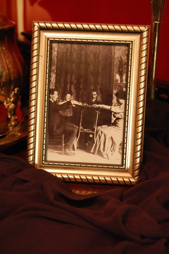 Victorian Halloween Decorations Old Family Photo Seance