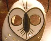 Ceramic Owl Votive Holder