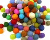 Felt Balls 50ct 20mm Felted balls by YUMMI felt beads Party Decorations