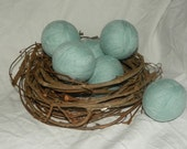 Wool Dryer Balls Set of 2 Made from Reclaimed Upcyled Wool Sweaters Eco Friendly and Wallet Friendly