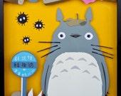 My Neighbor Totoro - Studio Ghibli - paper sculpt/photograph