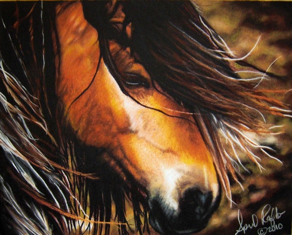 Mustang horse painting - photo#31
