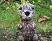 Knitted Mini Otter