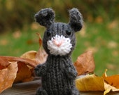 Mini Knitted Bunny