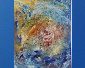 She Had Never Seen the Ocean 16x20 Matted Print
