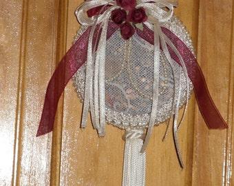 Bridal Sachet Lavender Lace Wedding Shower Tassle Sachet
