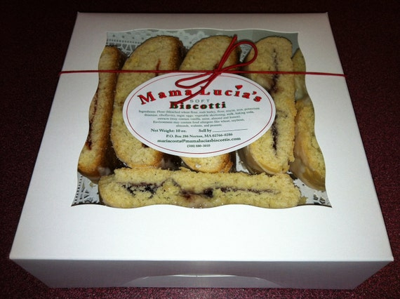 1 Dozen of Mama Lucia's BISCOTTI,  these are SOFT and cake like