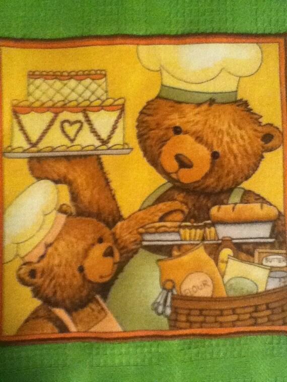 Teddy Bear Dish Towel