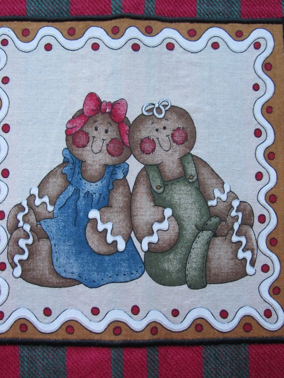 Gingerbread Couple Towel