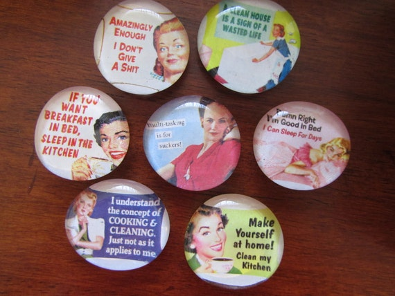 1950's Fab Housewife Magnets