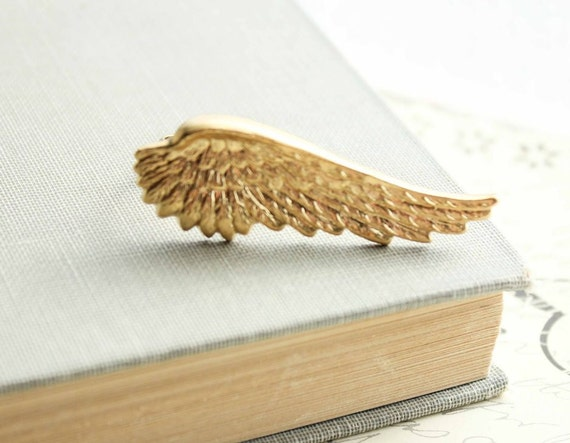 Unique Ring Golden Fairy Wing Ring Nature Inspired Jewellery Adjustable Ring Gold Wing Raw Brass Knuckle Ring Birds Wing Feather Flight
