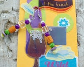 "Earrings ""At The Beach"" by Mary branchonthebeadtree"