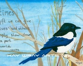 Magpie's Patience