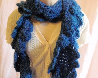 Kudo Scarf in Blue