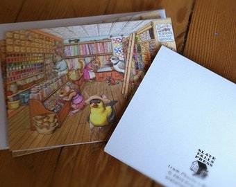 Phoebe's Birthday Stationery