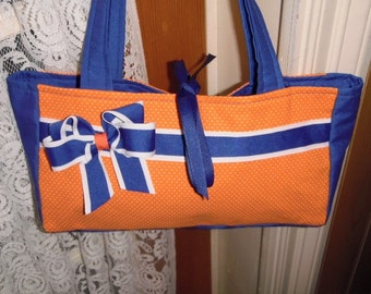 Team Spirit/Gator Colors/ Purse/Tote