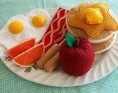 felt big breakfast set