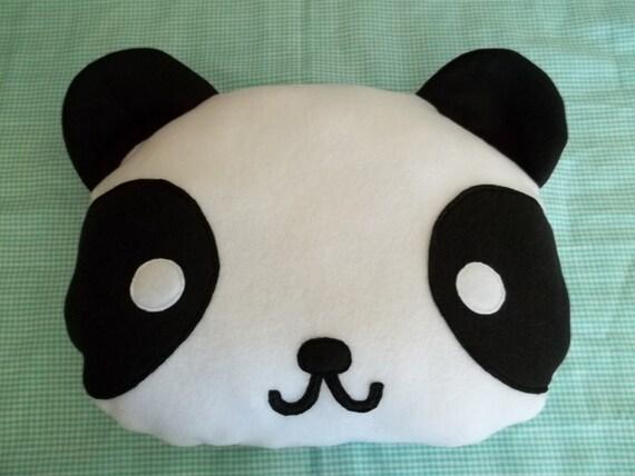panda head pillow