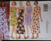 Sewing Pattern Butterick 5040  Misses Casual Dress Pattern Sz 14 to 18