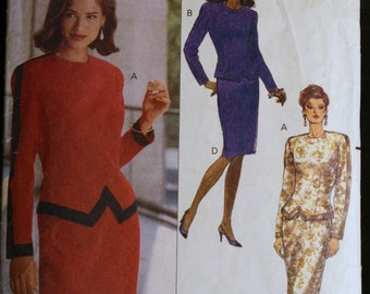 Sewing Pattern Misses Top and Skirt Evening Wear Pattern Butterick 5209