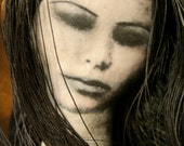Odessa : Gothic, mixed media photographic art doll
