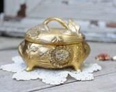 Art Nouveau Casket Jewelry Box