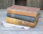 Antique Books, Novel, Poetry, Victorian, Ornate