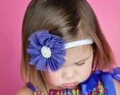 Baby Headband - Toddler Headband - Flower Headband