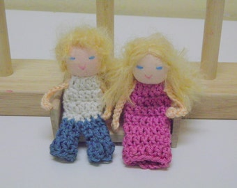 Mark and Anna Finger Puppet Dolls - Waldorf Inspired