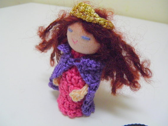 Her Royal Highness - Princess in a Purple Cloak