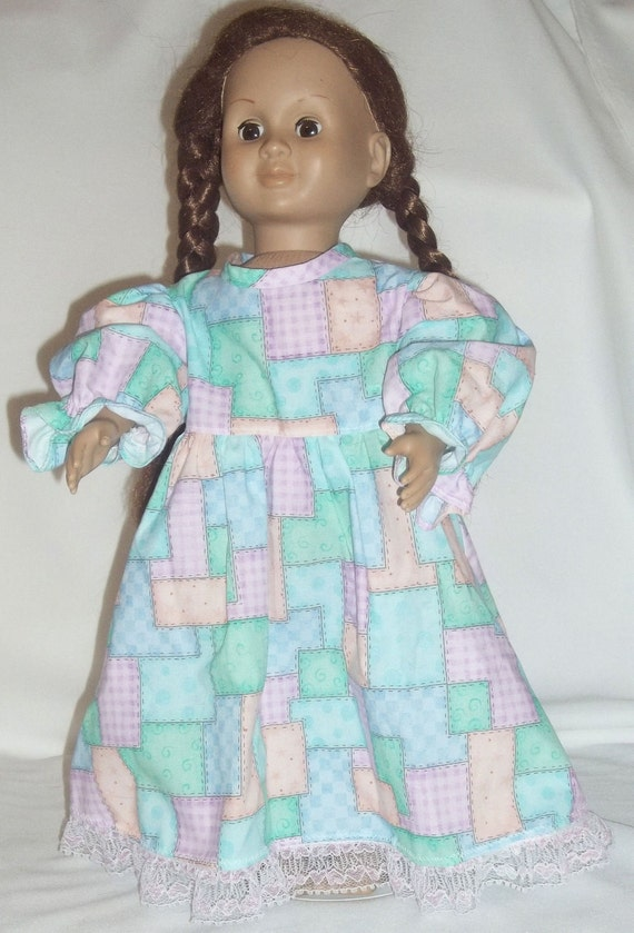 Patchwork Nightgown American Girl AG 18 in Doll