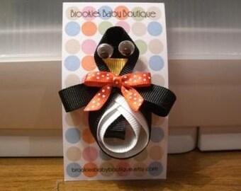 Penguin Hair Clippie