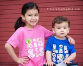 Set of 2 Big Brother Little Brother Big Sister Little Sister shirts - sibling shirts clothes