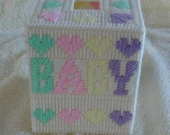 Baby Tissue box cover